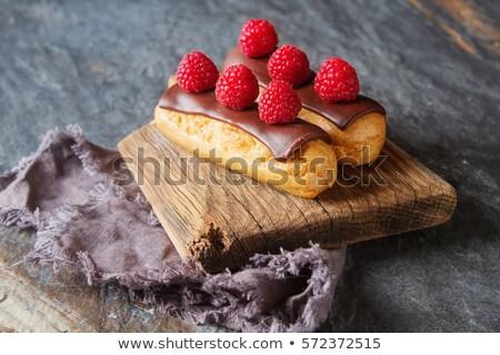 Ahşap plaka üç lezzetli Stok fotoğraf © borna_mir