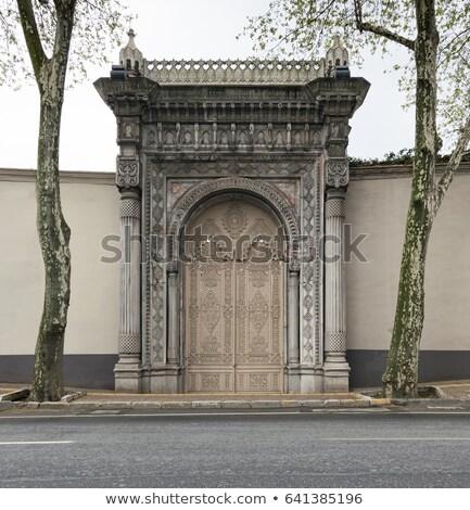宮殿 ゲート 歴史的 海 ロイヤル イスタンブール ストックフォト © HypnoCreative
