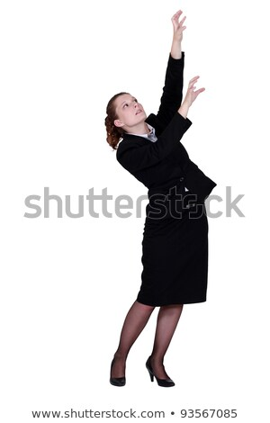 businesswoman reaching for archive boxes Stock photo © photography33