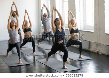 girl exercise in health club Stock photo © Paha_L