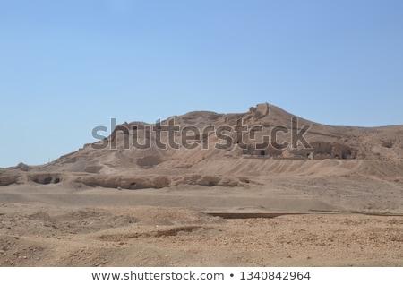 tempel · Egypte · zonnige · landschap · reizen · steen - stockfoto © prill