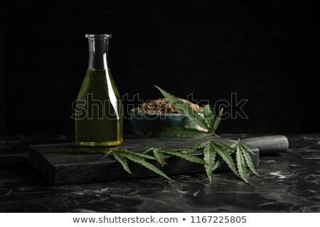 hemp dark background Stock photo © romvo