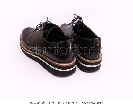 Pair women's shoes, back view Stock photo © a2bb5s