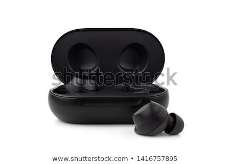 黒 · 携帯 · 空調装置 · 白 · ボタン · プラスチック - ストックフォト © ozaiachin