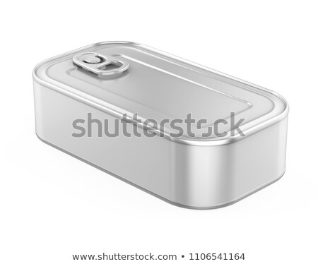 empty sardine can stock photo © magraphics