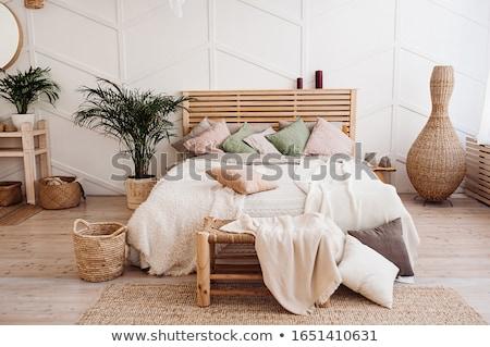 Balinese Style Bedroom Stock photo © Witthaya