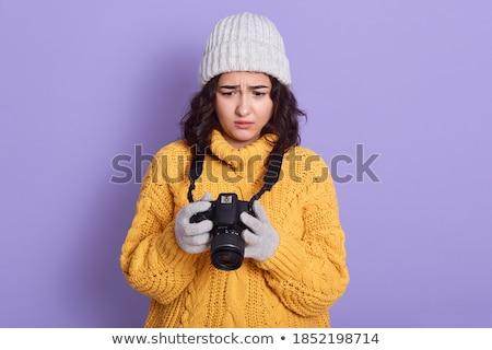 かなり 小さな オタク 悲しい 表情 美しい ストックフォト © konradbak