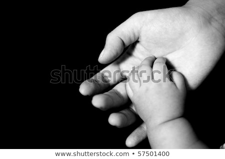 mother with baby suckle finger stock photo © Paha_L