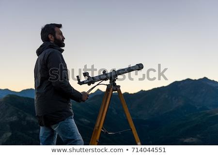 Bakmak teleskop star Stok fotoğraf © zzve