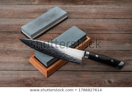 sharpening stone stock photo © prill