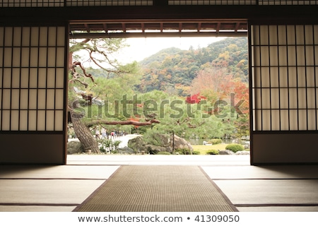 Tenryuji temple Daihoujyo Arasiyama Kyoto Japan  Stock photo © cozyta