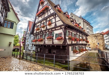 Old crooked house Stock photo © Hofmeester