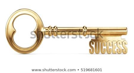 Stockfoto: Golden Key To Wealth