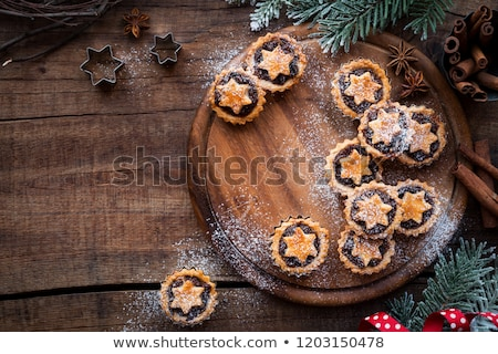Short crust pastry mince pie Stock photo © raphotos