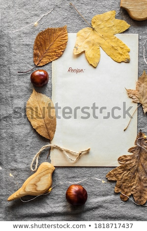 Sweet still life décoration blanche automne peau Photo stock © olandsfokus
