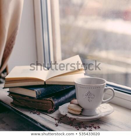 coffee sill life Stock photo © mizar_21984