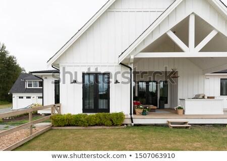 farmhouse facade Stock photo © prill