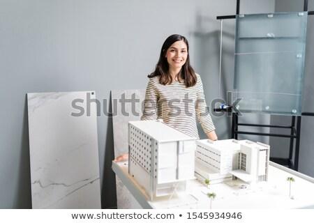 portrait of confident young architect stock photo © jasminko