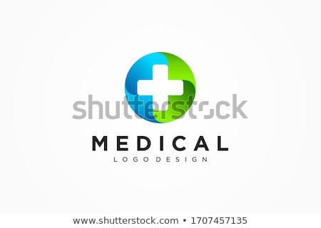 eczane · tıp · sağlık · çapraz · soyut · vektör - stok fotoğraf © netkov1