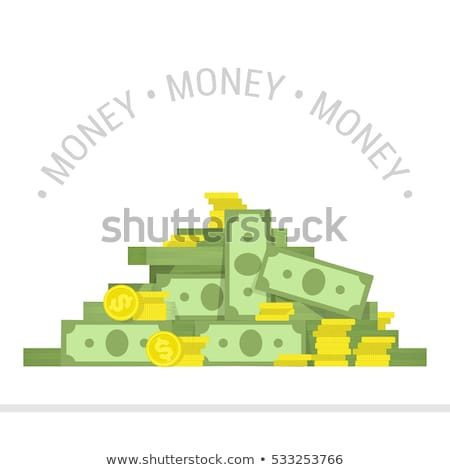 pack of money - big pile of banknotes Stock photo © jarin13
