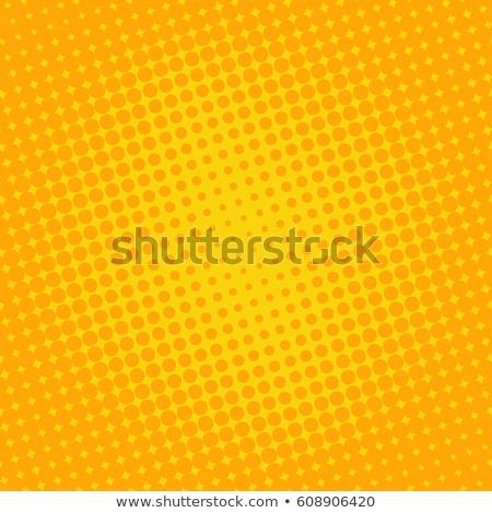 Turuncu nokta doku soyut arka plan baskı Stok fotoğraf © gladiolus