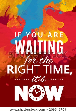 Motivational poster Stock photo © maxmitzu