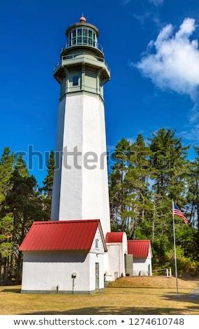 Grays Harbor Lighthouse Maritime Museum Westport Washington Stat Stock photo © billperry