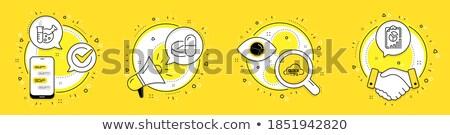 クイック テスト 薬 室 紙 シリンジ ストックフォト © fotoquique