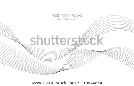 волнистый · линия · воды · технологий · энергии - Сток-фото © derocz