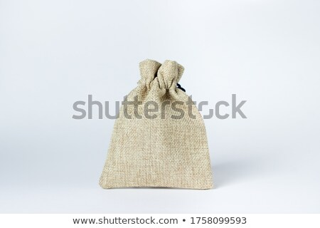 Old fabric purse Stock photo © Supertrooper
