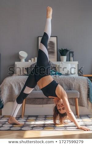 bedding, legs, bra Stock photo © dmitroza