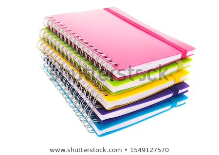 Yellow notebooks stack Stock photo © simply