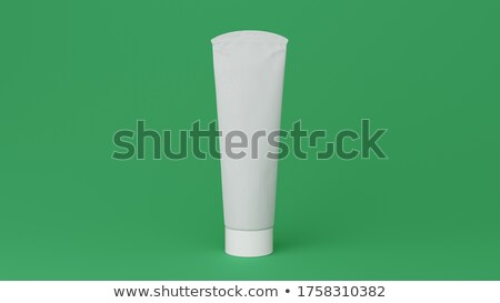 A topview of a green medicinal tube Stock photo © bluering