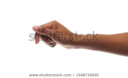 Fekete kéz halloween szórólap ijesztő zombi Stock fotó © brux