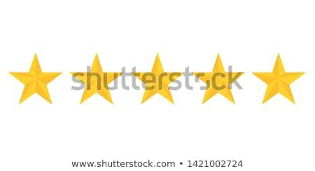 Design with five stars Stock photo © blackmoon979