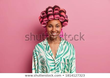 gyönyörű · nő · luxus · smink · különleges · szőke - stock fotó © konradbak