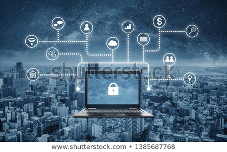 Internet Security Concept on Laptop Screen. Stock photo © tashatuvango