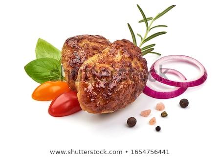 フライド ハンバーガー スパイス 在庫 写真 食品 ストックフォト © tycoon