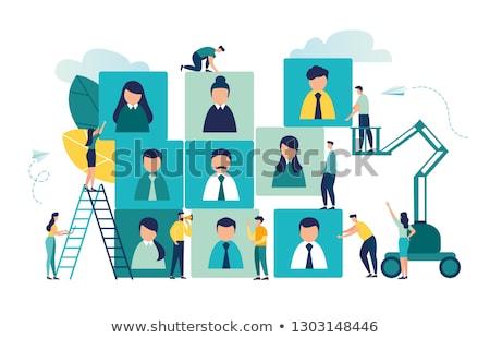 job opening recruitment manager 3d stock photo © tashatuvango