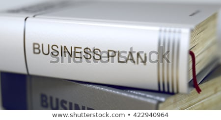 Business Plan - Business Book Title. 3D. Stock photo © tashatuvango