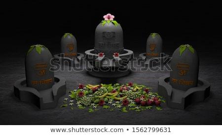 streszczenie · artystyczny · tekst · czerwony · boga · indian - zdjęcia stock © pathakdesigner