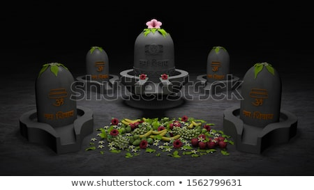 abstract artistic creative maha shivratri stock photo © pathakdesigner