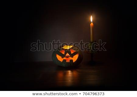 Glowing Jack O'Lantern Stock photo © monkey_business