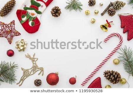 クリスマス · グリーティングカード · 金 · グリッター · トナカイ · 陽気な - ストックフォト © cienpies