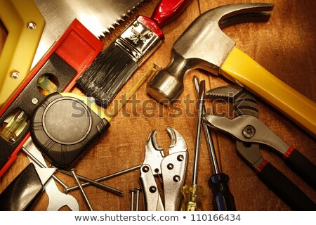 hammer tool closeup  Stock photo © OleksandrO