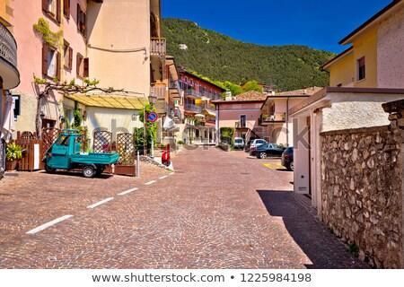 Picturesque Vesio village above Lago di Garda Stock photo © xbrchx