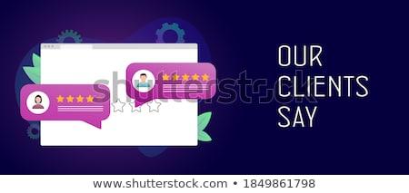 Top-ranking concept banner header. Stock photo © RAStudio