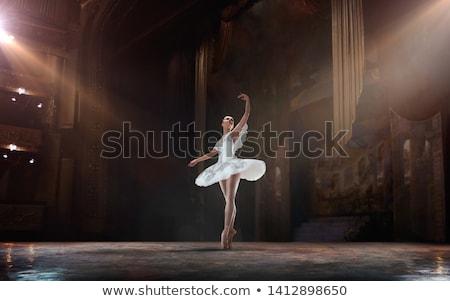 Moço posando bailarino luz mão dançar Foto stock © alexandrenunes