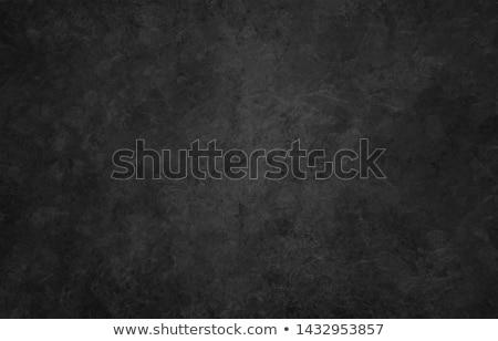 Metal doku çatlaklar karanlık soyut plaka siyah Stok fotoğraf © grafvision