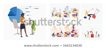 negocios · idea · respuestas · hombre · innovador · solución - foto stock © robuart